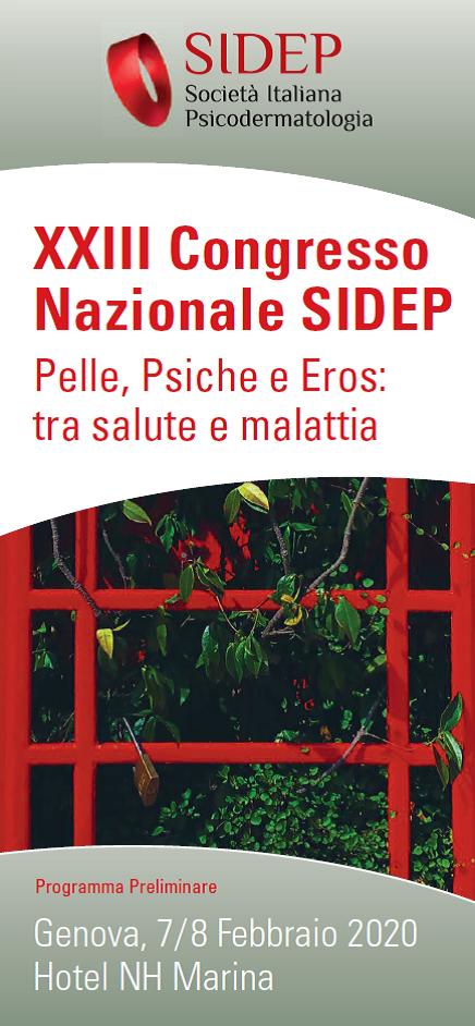 Pelle Psiche E Eros Tra Salute E Malattia Xxiii Congresso Nazionale Sidep Fondazione Leonardo